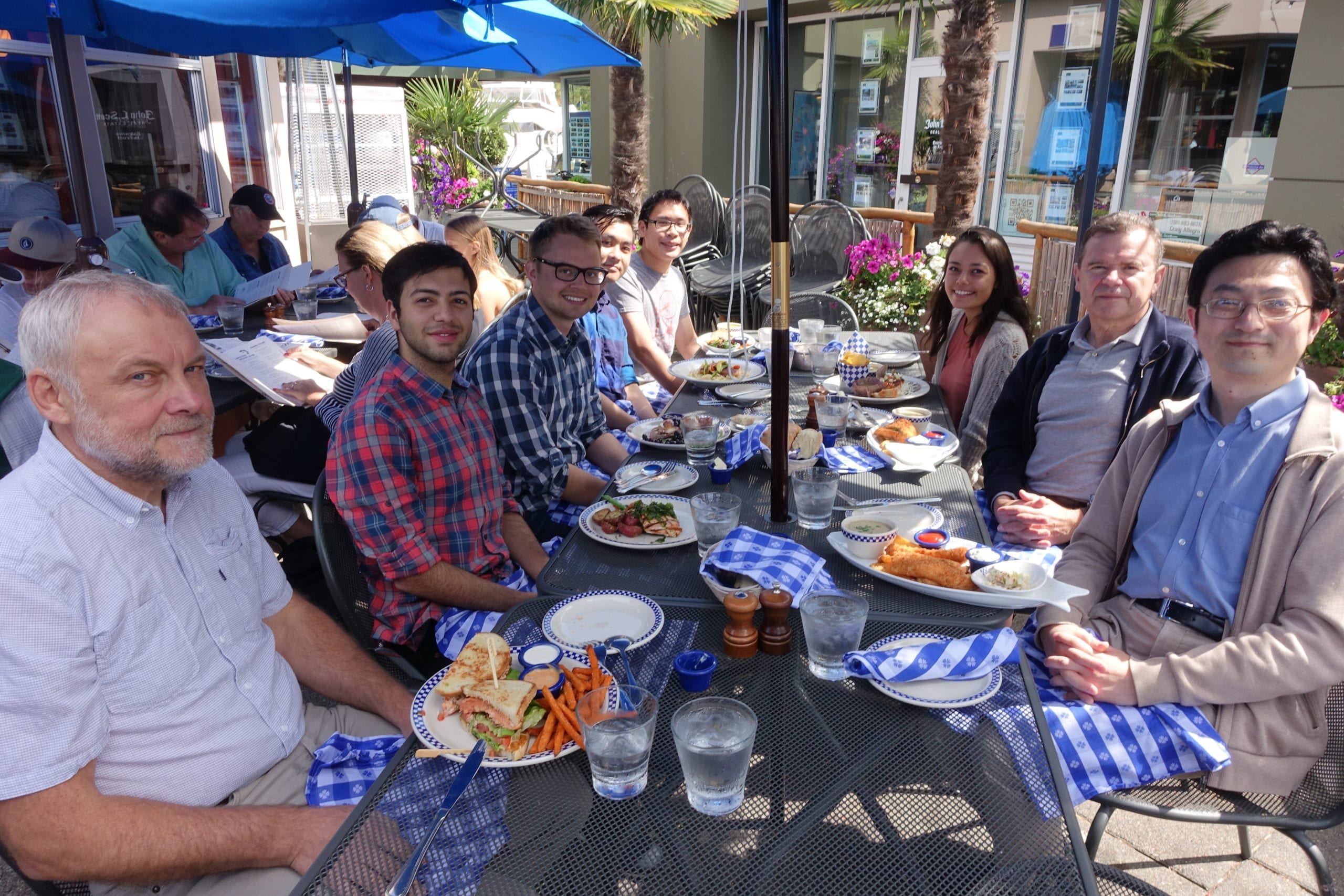 Lunch With Bomsztyk Lab Members